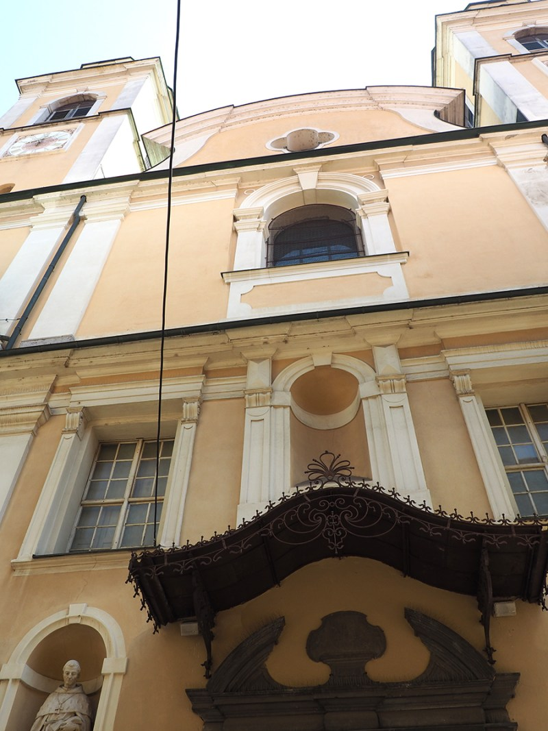 The Cathedral of St. Nicholas (Stolnica Sv. Nikolaja) has a very simple exterior on a very small side street, but the inside of the cathedral literally took my breath away.   via Stay gold Autumn