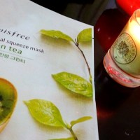 Innisfree It's real squeeze mask - Green Tea Review