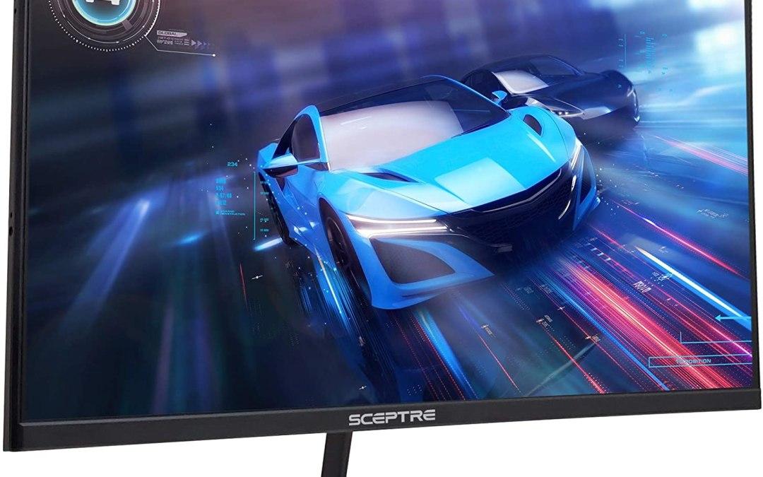 Sceptre 27-inch LED Gaming Monitor IPS-Edgeless-E275B-FPN168