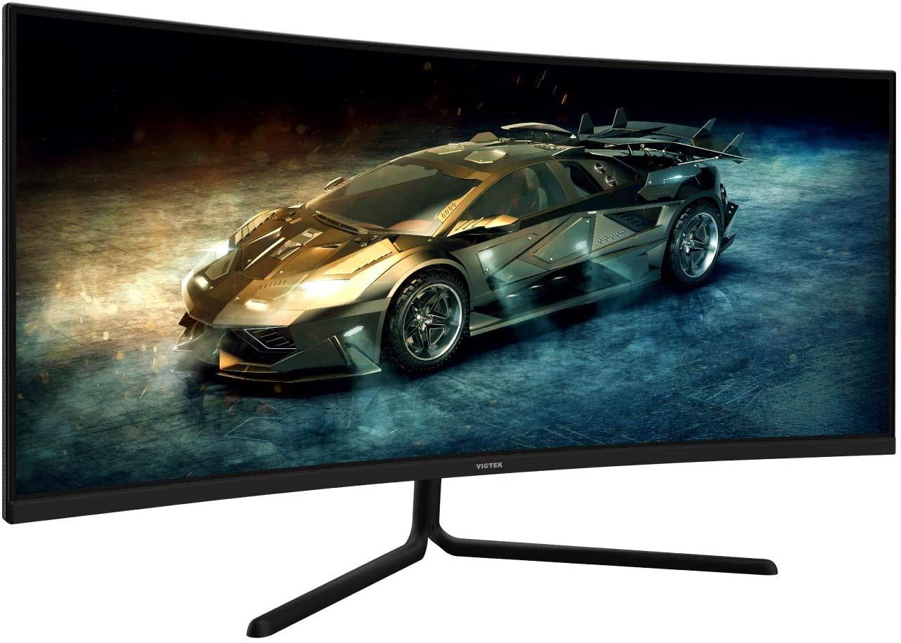 Computer Monitor-Viotek GNV34DB 34-inch ultrawide gaming monitor