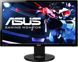 Image of computer monitor-Asus vg248qe 24 inch gaming monitor