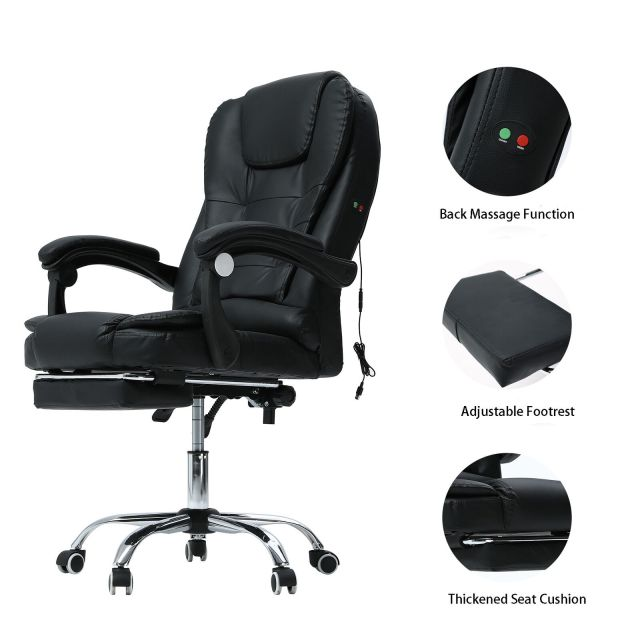 deeiwhy ergonomic office chair gaming chair layback back massage