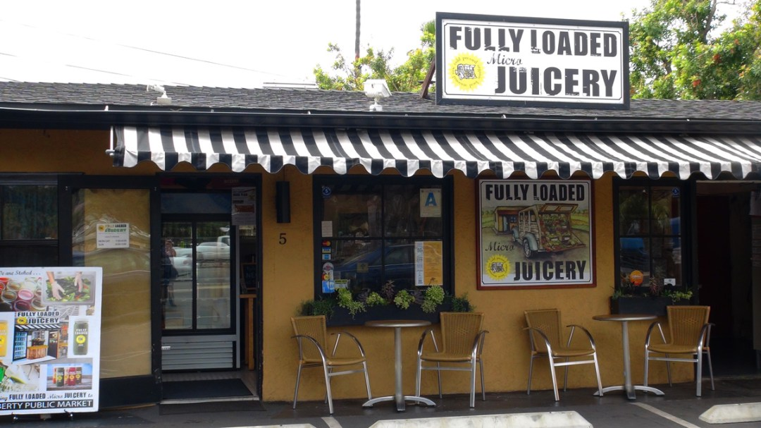 The Fully Loaded Micro Juicery at the Gold Coast Mall.