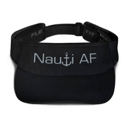 Nauti AF Visor in Black with Grey
