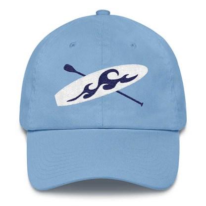 Paddle board Baseball Hat in Carolina Blue