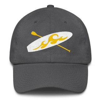 Paddle board Baseball Hat in Grey