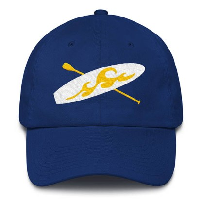 Paddle board Baseball Hat in Royal Blue
