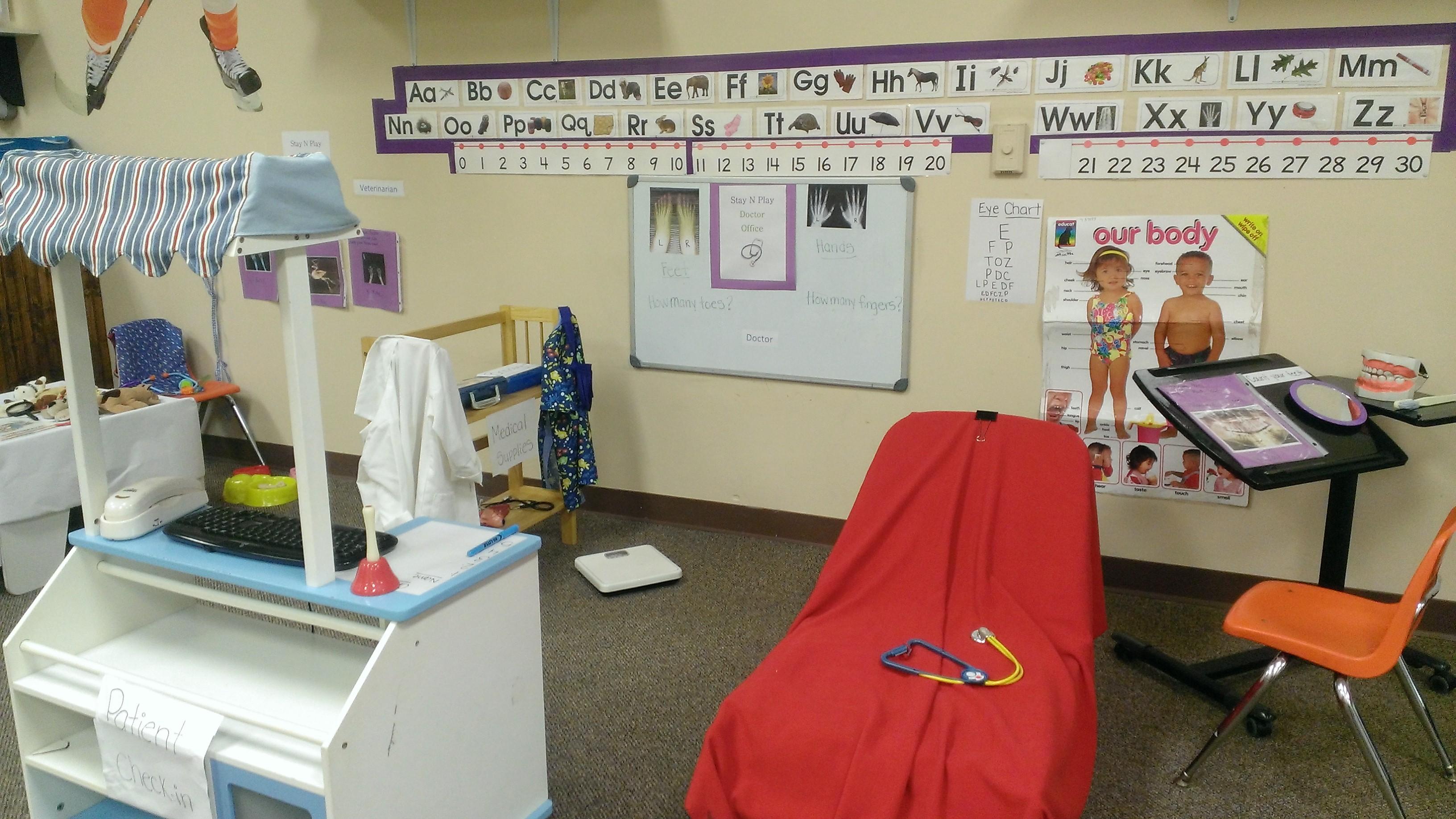 Learning About Doctors In Preschool