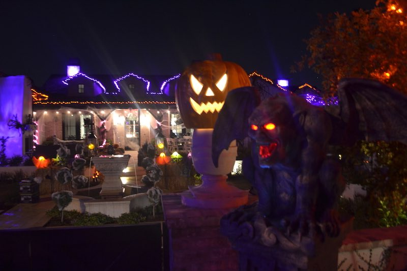 Custom Halloween Lighting