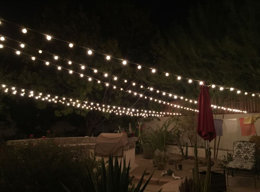 Patio Bistro Lighting