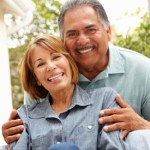 Hispanic retired couple