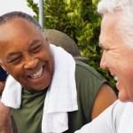 2 gay men retirees
