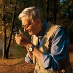 Edward O. Wilson, naturalist and author, 85, at Walden Pond