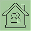 shared housing icon