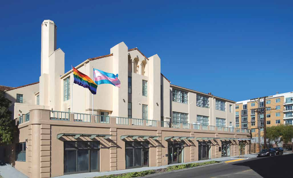 The Openhouse building -a place for LGBT seniors