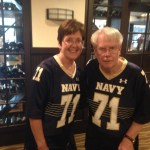 couple with same athletic jerseys on