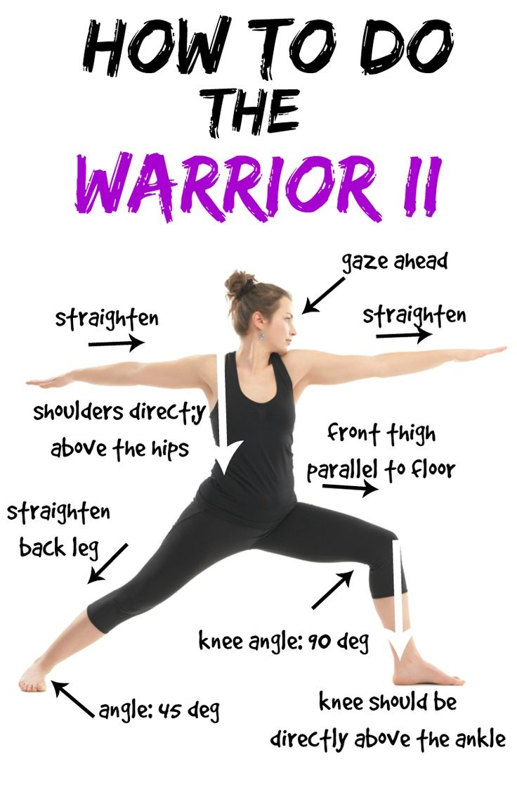 how to do yoga warrior pose to weight loss