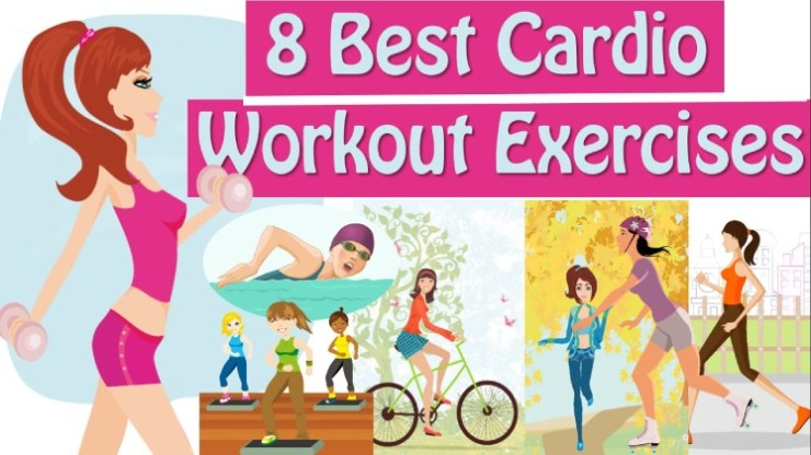 The 8 best Cardio Workouts - Stay Super Fit