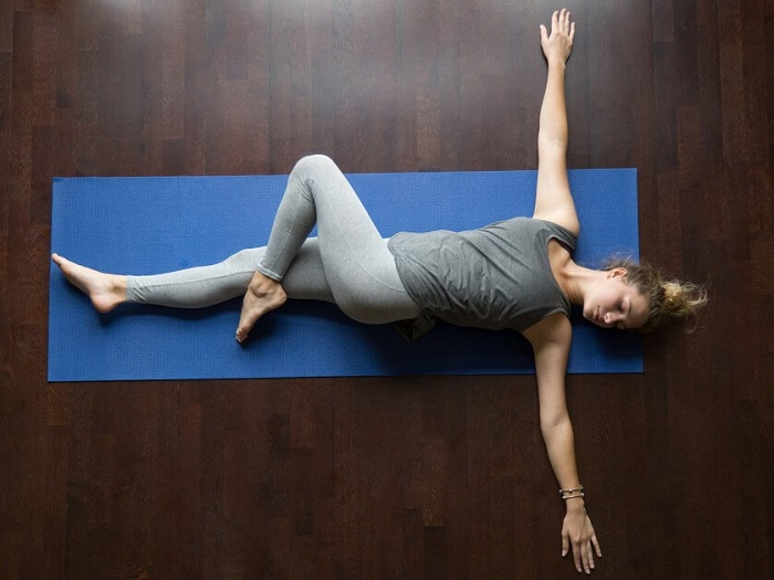 Stretching your lower back pain relief for women