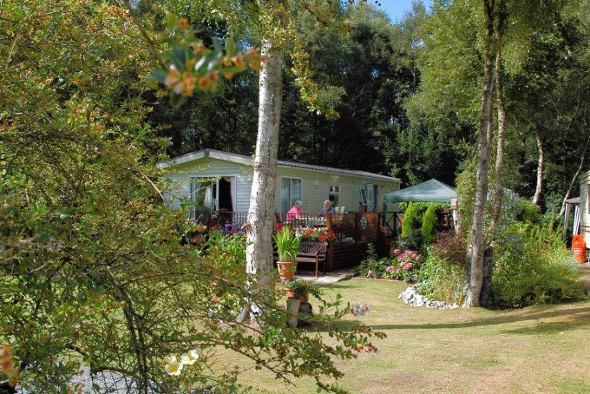 Fernwood Caravan Park (above) has earned a special distinction for its environmental policies