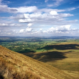 Inland, the Ribble Valley is a popular destination