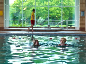 Silverdale's leisure facilities include a pool, sauna and gym