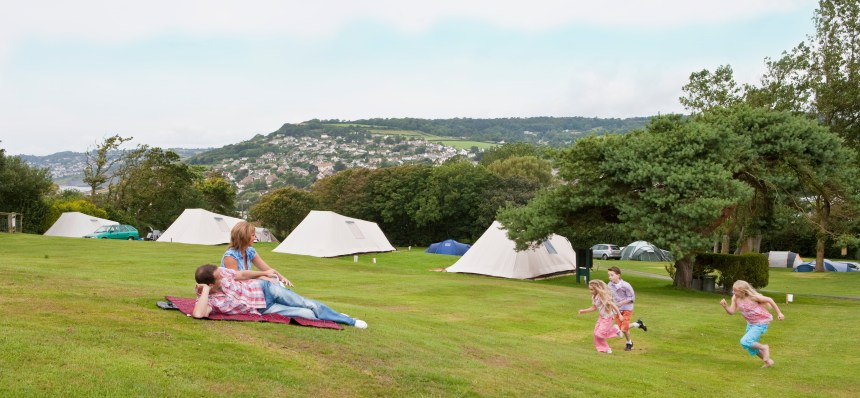 Guests at Newlands enjoy spectacular views along the Jurassic Coast