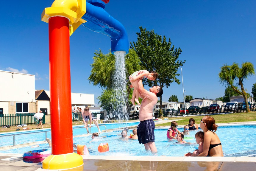 Seawick's popular heated lido pool (above) will be retained when the new complex is completed next year