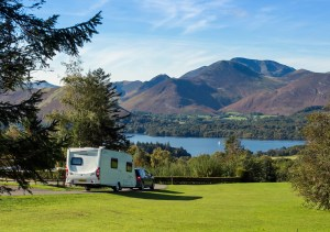 Caravan and motorhome guests also enjoy dramatic panoramas