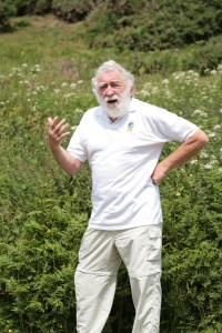 David Bellamy also praised the park's bee-friendly projects