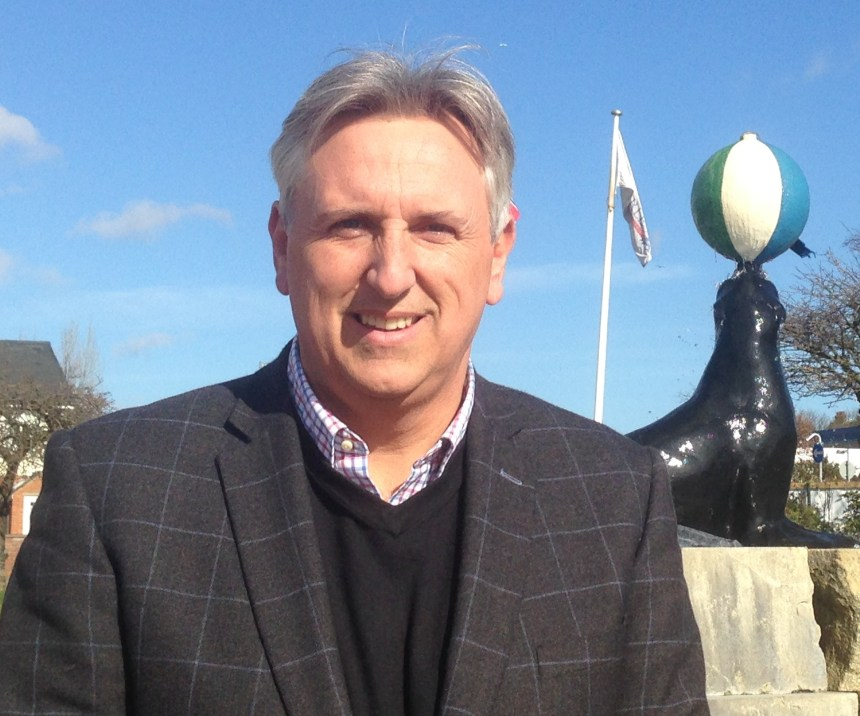 Paul Searle, pictured outside Searles Leisure Resort in Norfolk, says the park industry's diversity is its strength