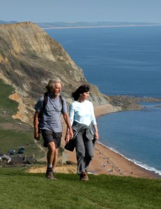 There are cliff-top walks a-plenty leading from the parks