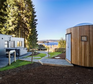 Luxury touches with holiday lodges include private hot-tubs and saunas