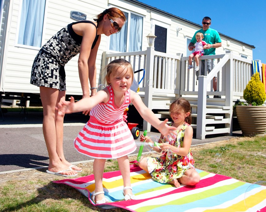 Let it be: holiday home owners who sub-let to families in summer can expect earnings of up to £900 a week