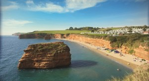 Judges went undercover before shortlisting Ladram Bay (above) and other contenders for the Devon Tourism Awards