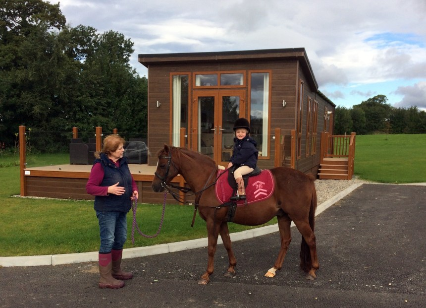 Equestrian facilities at the park include stabling and regular riding events for horse-owning holiday guests