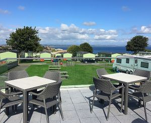 St Andrews Holiday Park provides amazing coastal views