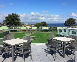 St Andrews Holiday Park provides amazing coastal views
