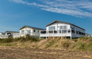 Holiday homes on the park have picture-postcard rural views