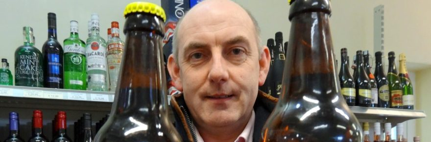 Wild about real ale: Henry Wild with his park's new beer which will boost funds for the British Beekeepers Association