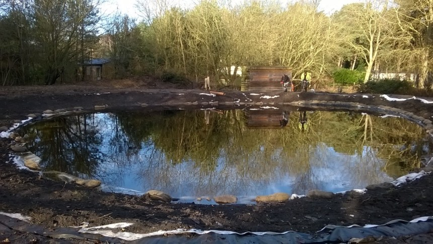 This former old clay pit is now a wildlife haven with fascinating finds for holiday guests