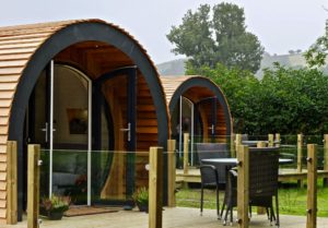 New luxury glamping pods win thumbs-up from guests