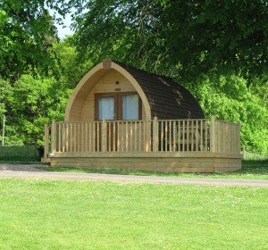 New glamping pods are set in quiet forest glades