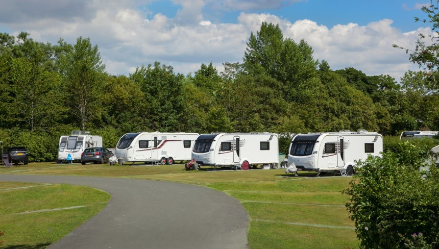 Touring pitches are popular with guests wishing to explore the Yorkshire Dales and nearby Lake District