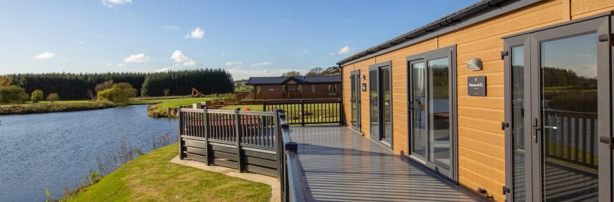 Luxury lodges at Westlands Country Park are part of a £4.5 million tourism investment by the family owners