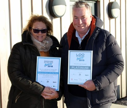 Jane and Paul splashed over £300,000 on the award-winning new washrooms