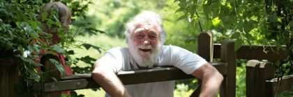 David Bellamy praised the park's work to protect honey bees and butterflies