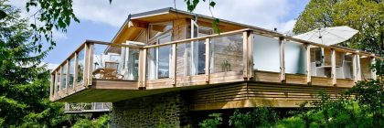 Lodges at Stonerush Lakes have many eco-friendly features which helps minimise the park's carbon footprint