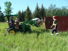 Clean Up Volunteers at the Richard St. Barbe Baker Afforestation Area, Saskatoon, SK 2016 Community Clean Up