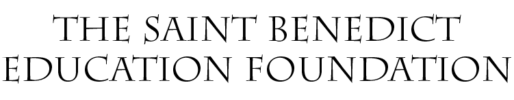 The Saint Benedict Education Foundation